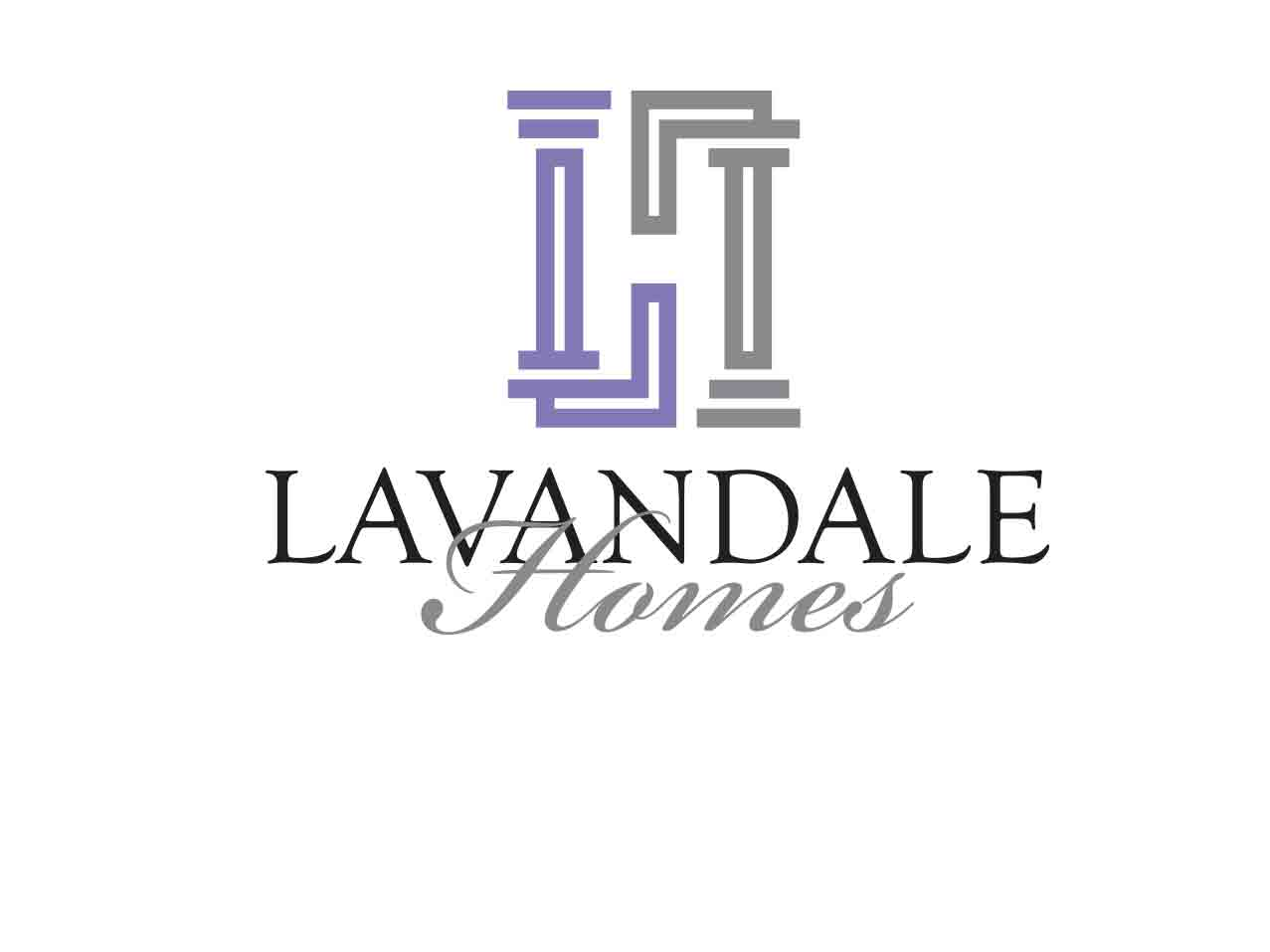 lavandale-homes-logo-design